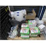 Quantity Assorted Spares to Pallet