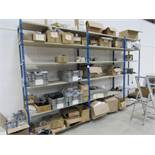 Quantity Various Parts to Boltless Racking