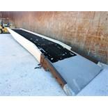 PORTABLE TRUCK RAMP, COPPERLOY, aluminum w/aluminum side frames, bar grate steel deck, transport
