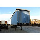 CONTAINER TRAILER FRAME, CUSTOM 40', triple axle, landing gear, open top container