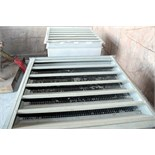 LOT OF LOUVER VENTS (2), intake/exhaust, 3' x 3