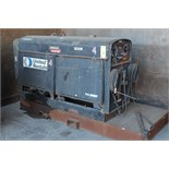 PORTABLE WELDER, LINCOLN SAE400 MDL. K1278-5, 400 amps @ 40 v. 60% duty cycle, mtd. to steel skid,