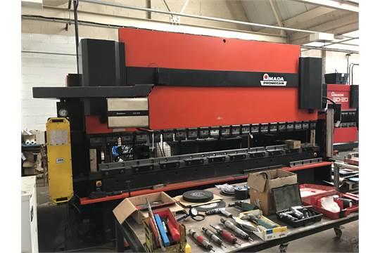 Used Amada Promecam HFB 170 – 40 4m CNC Hydraulic Press Brake c/w