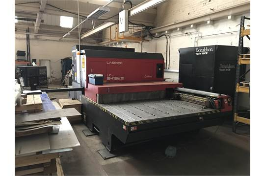 Amada C4000 Lasmac LC-2415 CX III CNC Laser Machine c/w GE