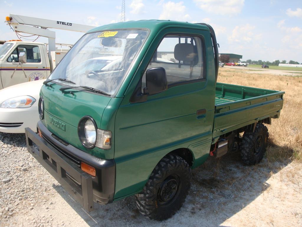 Bag 1996 Suzuki Carry Mini Truck No Title 660cc 4x4 101 166 Kilometers On Odo