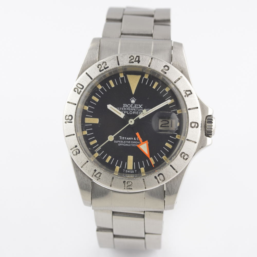 "A VERY RARE GENTLEMAN'S STAINLESS STEEL ROLEX OYSTER PERPETUAL DATE EXPLORER II ""ORANGE HAND"" - Image 4 of 13"