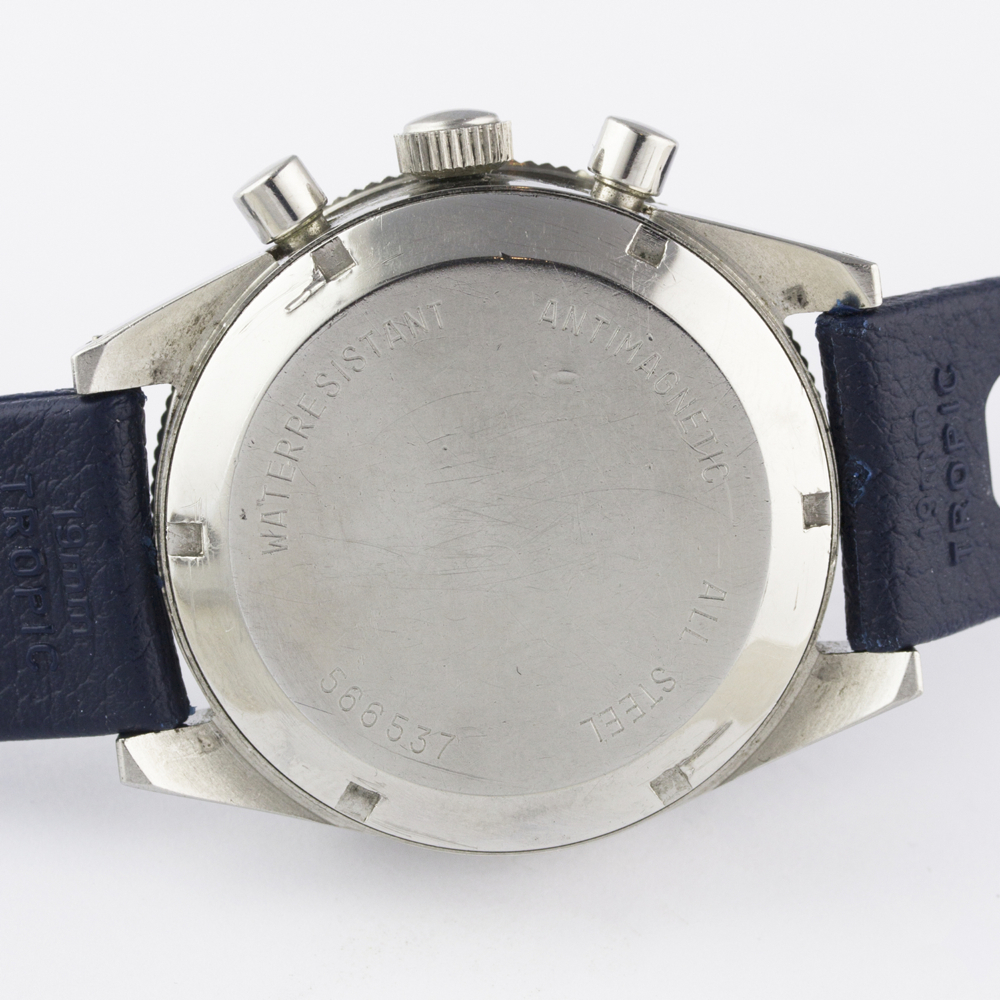 A VERY RARE GENTLEMAN'S STAINLESS STEEL YEMA YACHTINGRAF CROISIERE CHRONOGRAPH WRIST WATCH CIRCA - Image 8 of 12