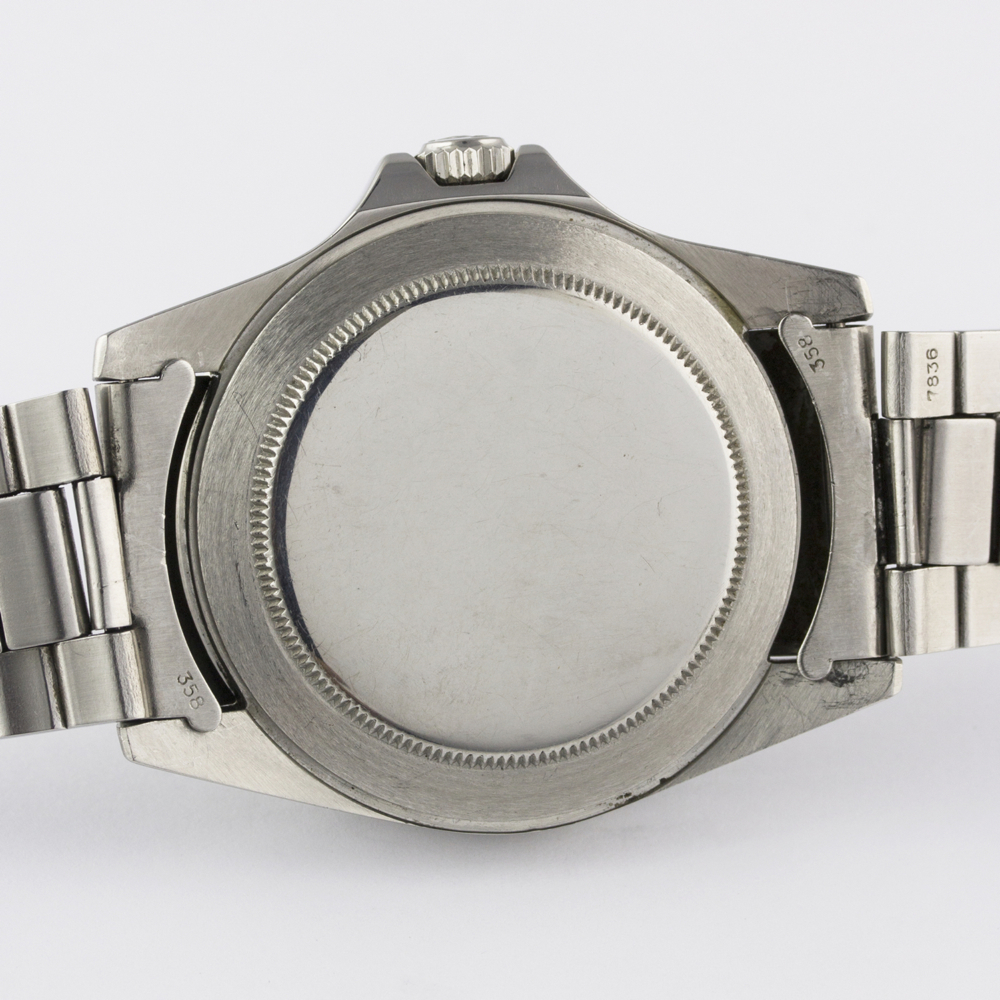 "A VERY RARE GENTLEMAN'S STAINLESS STEEL ROLEX OYSTER PERPETUAL DATE EXPLORER II ""ORANGE HAND"" - Image 9 of 13"
