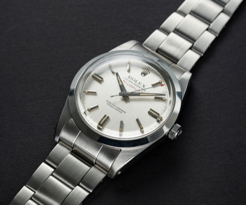 A RARE GENTLEMAN'S STAINLESS STEEL ROLEX OYSTER PERPETUAL MILGAUSS BRACELET WATCH CIRCA 1968, REF. - Image 2 of 3