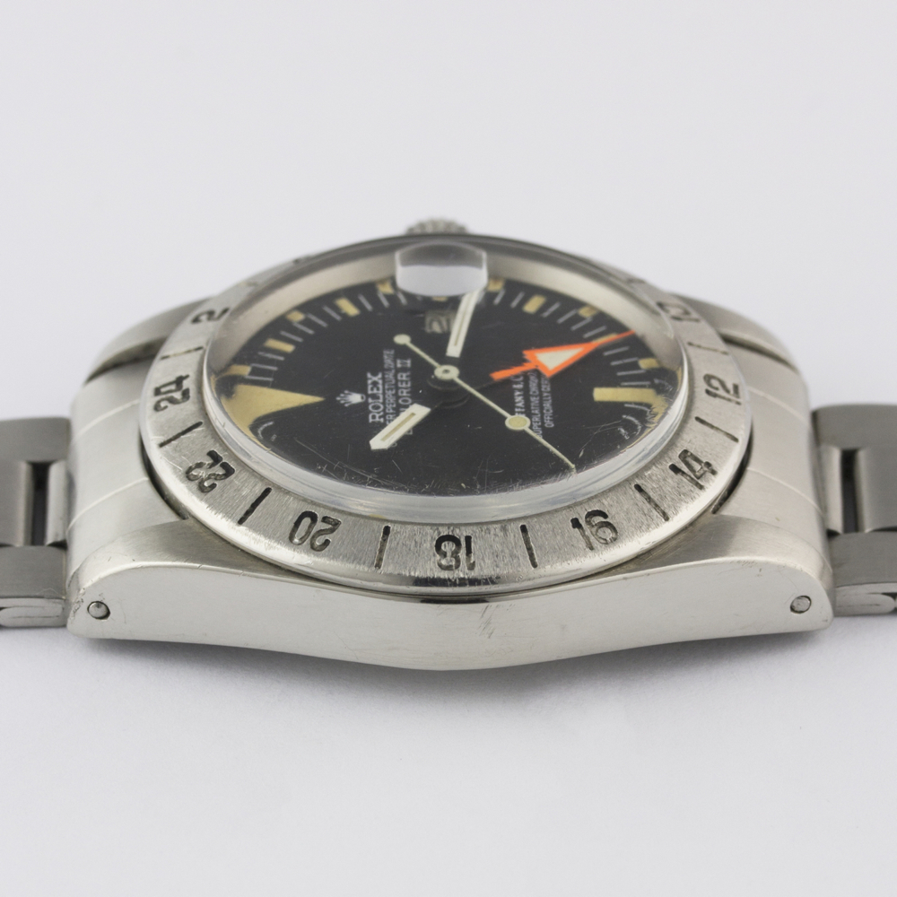 "A VERY RARE GENTLEMAN'S STAINLESS STEEL ROLEX OYSTER PERPETUAL DATE EXPLORER II ""ORANGE HAND"" - Image 13 of 13"