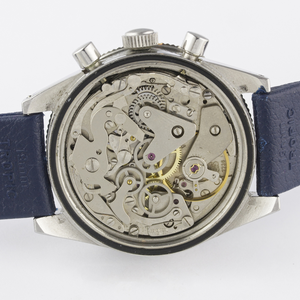 A VERY RARE GENTLEMAN'S STAINLESS STEEL YEMA YACHTINGRAF CROISIERE CHRONOGRAPH WRIST WATCH CIRCA - Image 9 of 12