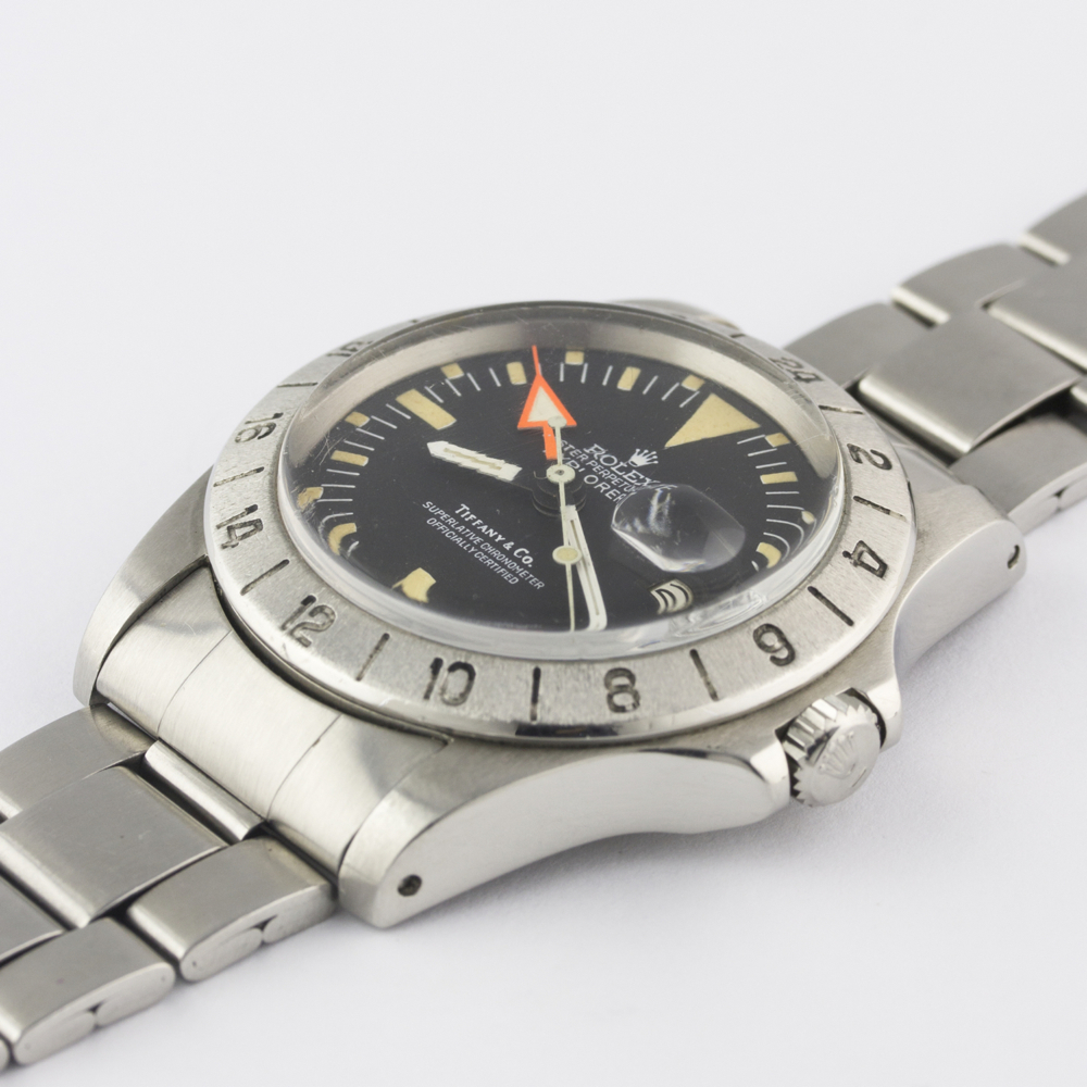 "A VERY RARE GENTLEMAN'S STAINLESS STEEL ROLEX OYSTER PERPETUAL DATE EXPLORER II ""ORANGE HAND"" - Image 5 of 13"