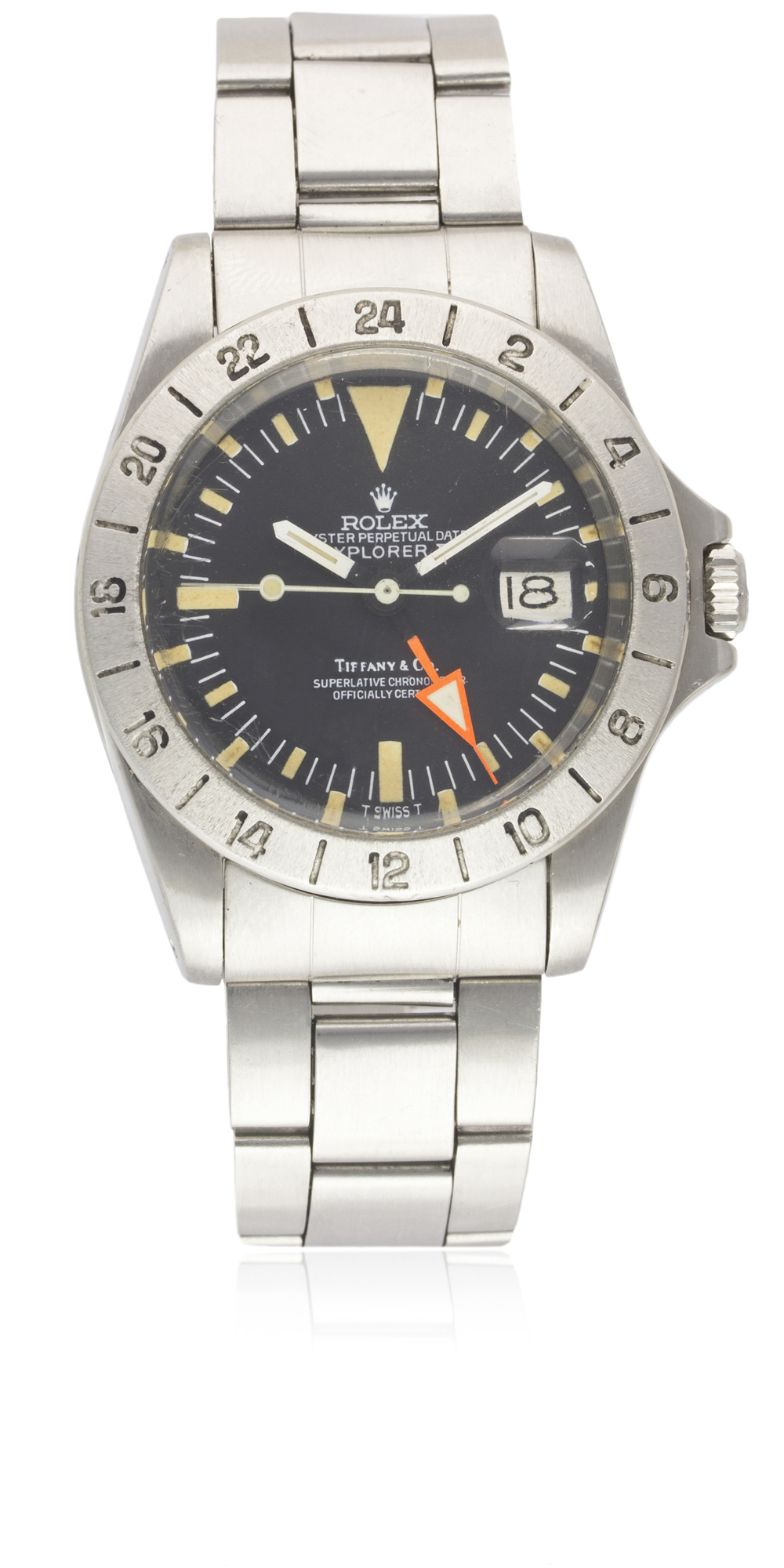 "A VERY RARE GENTLEMAN'S STAINLESS STEEL ROLEX OYSTER PERPETUAL DATE EXPLORER II ""ORANGE HAND"" - Image 3 of 13"