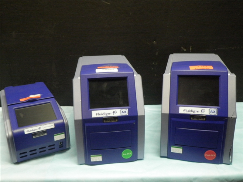 Lot 6 - FLUIDIGM AX IFC CONTROLLERS WITH FLUIDIGM FC1 CYCLER