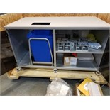 ABBOTT M2000SP AUTOMATED FLUID HANDLING SYSTEM TO INCLUDE WORKSTATION & ACCESSORIES. ORINGAL