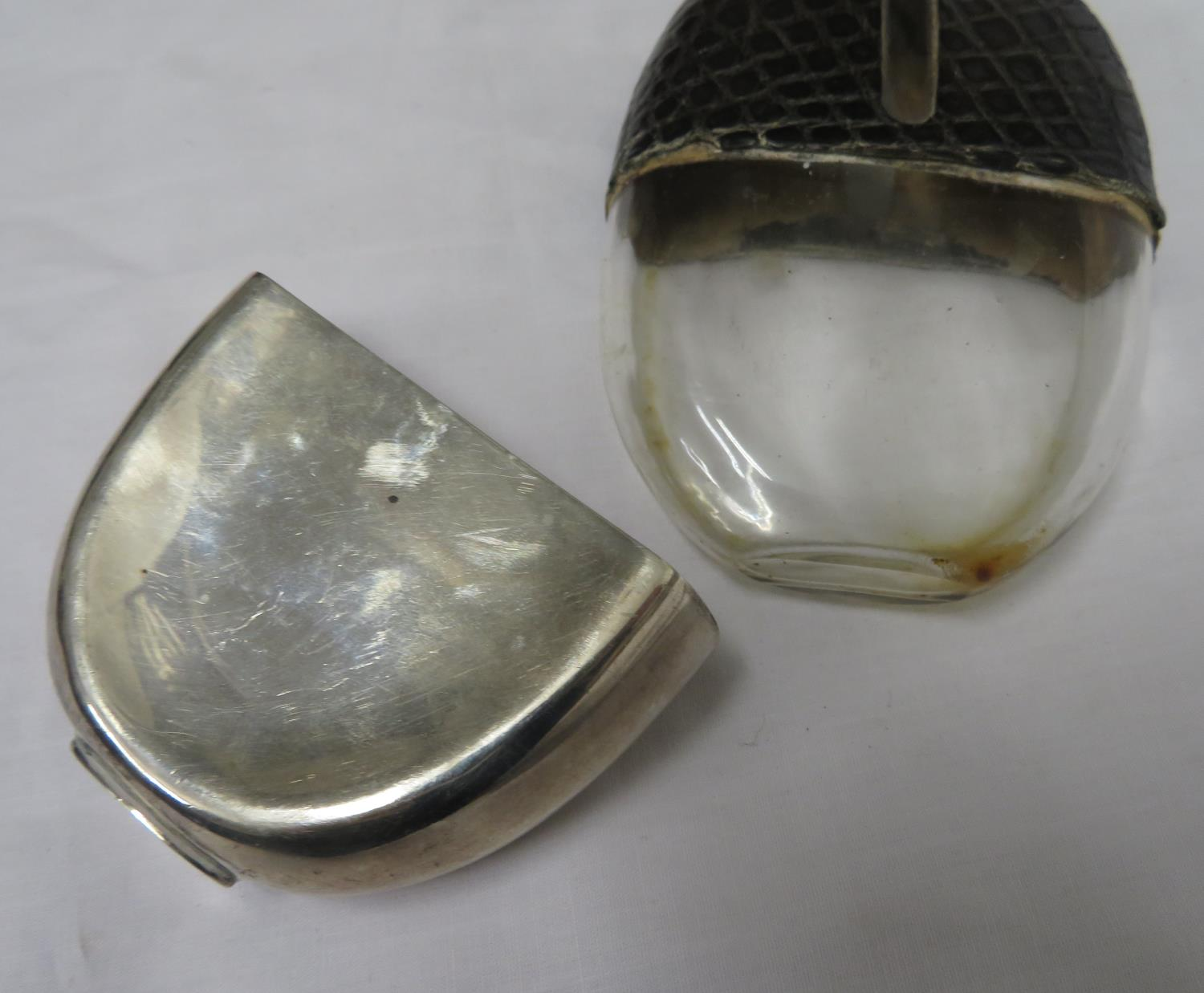 Lot 15 - Walker and Hall silver hallmarked hip flask