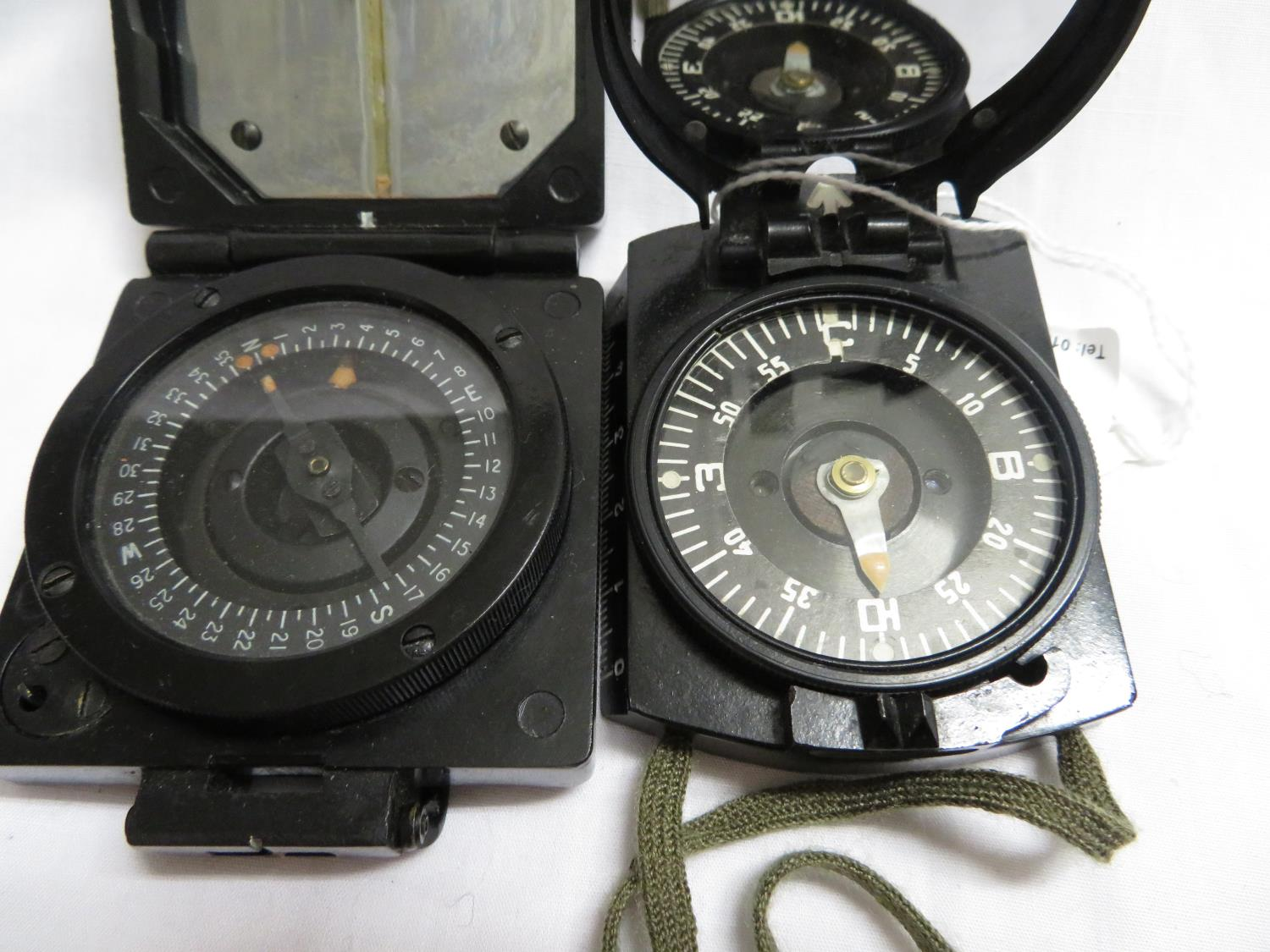 Lot 38 - 2x military compasses