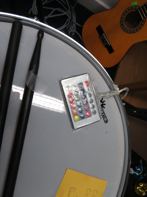 Lot 58 - Colour changing drum lamp