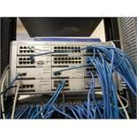 Samsung Office Serv 7400 Telephone System with (45) SMT-i5210 Handsets