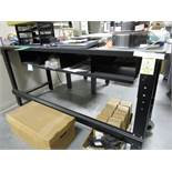 (4) Black Work Benches