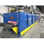 "Davron DTI-1113 Conveyor Type Electic Oven s/n 1113-0710, 32"" x 24', 200 Degrees F, 480V"