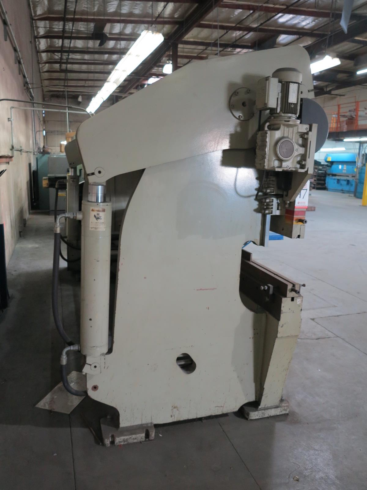1999 ACCURPRESS BRAKE, MODEL 7017512, 175-TON X 12', E&S CONTROL, CNC BACKGAUGE, SUPPORTS, S/N 5758 - Image 6 of 7