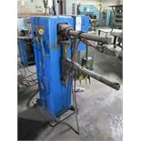 "ACME SPOT WELDER, MODEL 2-18-30, 30 KVA, INTELOCK CONTROL, 24"" ARMS, S/N 12613, FOOT PEDAL"