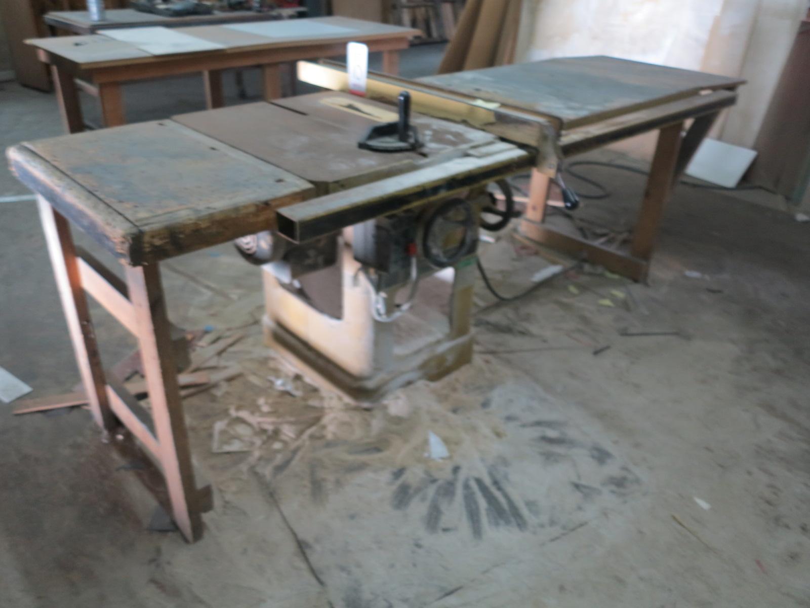 """POWERMATIC 10"""" TABLE SAW, MODEL 66, S/N 97662265, GOOD WORKING ORDER"""