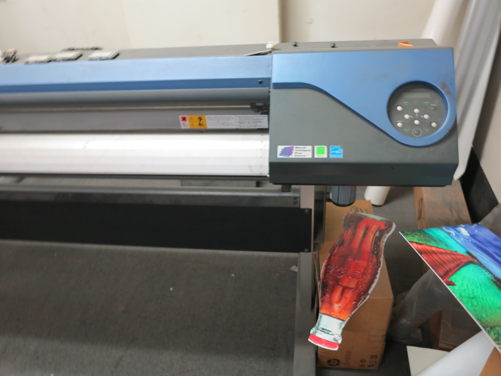 "ROLAND VERSA CAMM PRINT & CUT VS-640 64"" METALLIC INKJET PRINTER/CUTTER - Image 3 of 3"