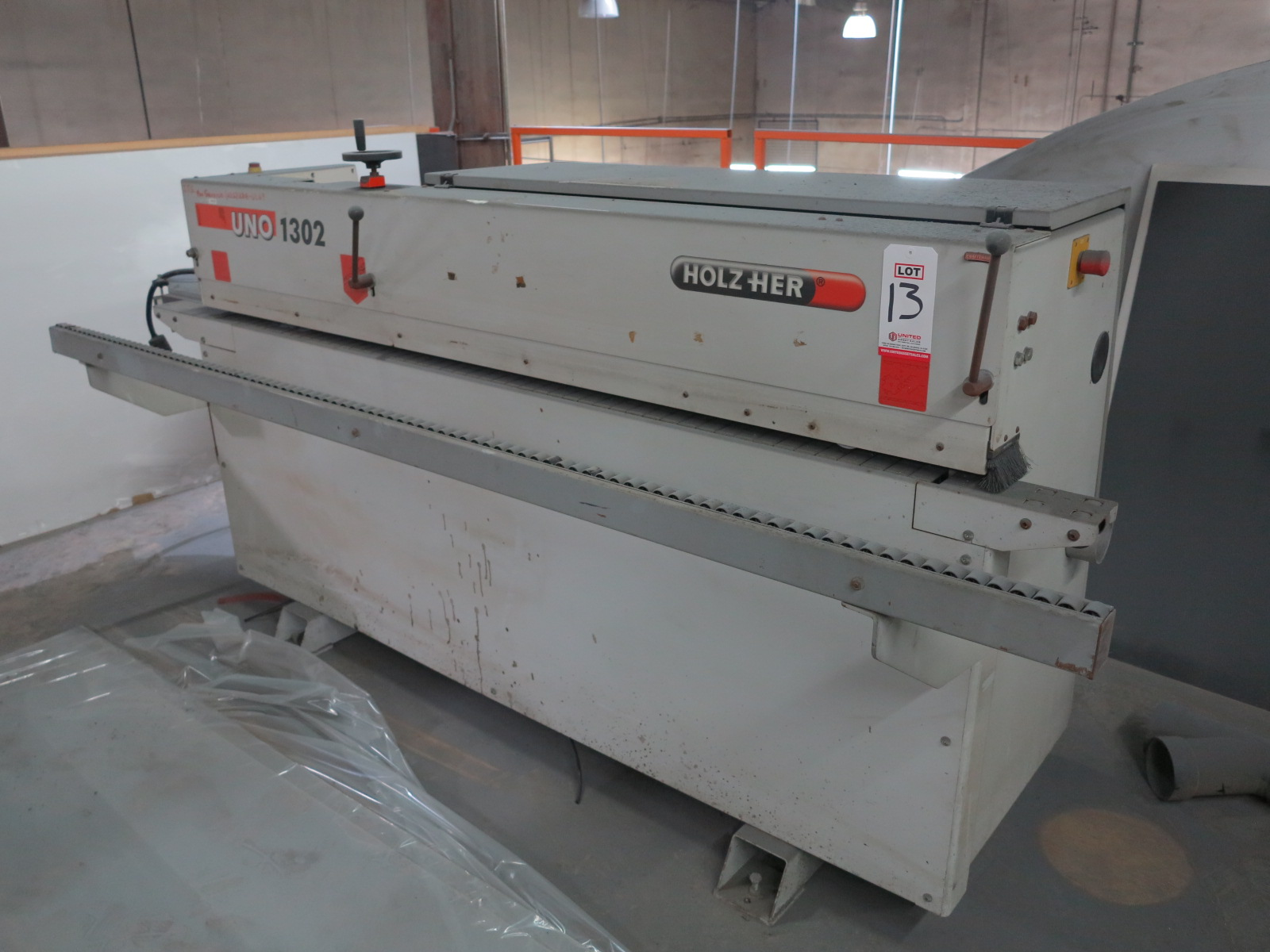 2006 HOLZ-HER UNO 1302 AUTOMATIC EDGE BANDER, S/N 106/0-610_5006714