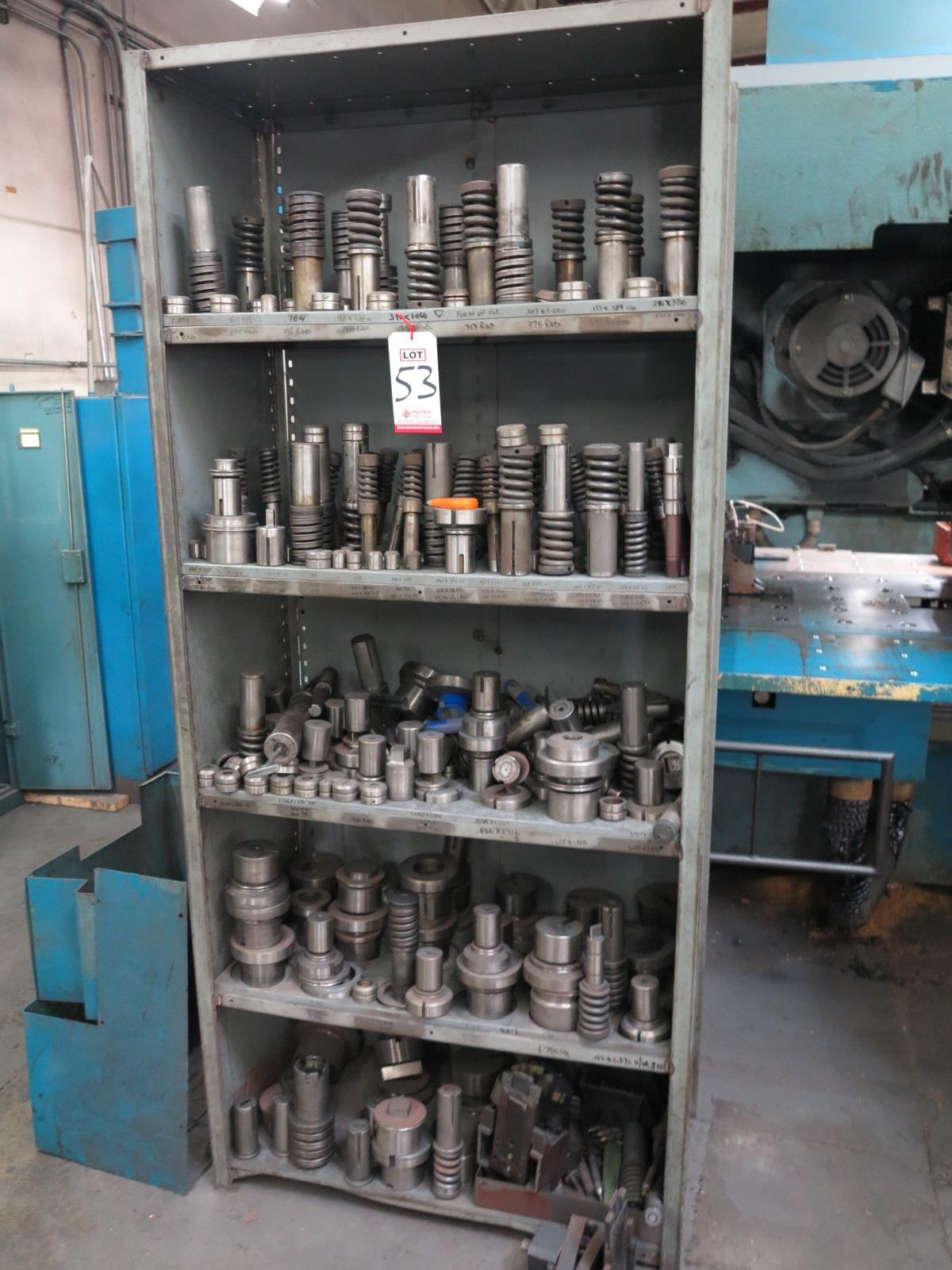 LOT - LARGE QUANTITY OF PUNCH PRESS TOOLING
