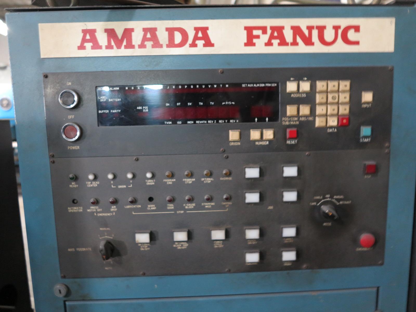 1981 AMADA PEGA 344 TURRET PUNCH, 30-TON, 56-STATION, THICK TURRET, S/N P3440465 - Image 4 of 4