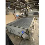 "2011 MULTICAM 3000 SERIES CNC ROUTER, 60""X122"", POSITION RACK TYPE TOOL CHANGER, S/N 3-204-R-PF08407"