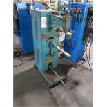"CENTRAL MACHINERY SPOT WELDER, 25 KVA X 16"", DATA PLATE UNREADABLE"