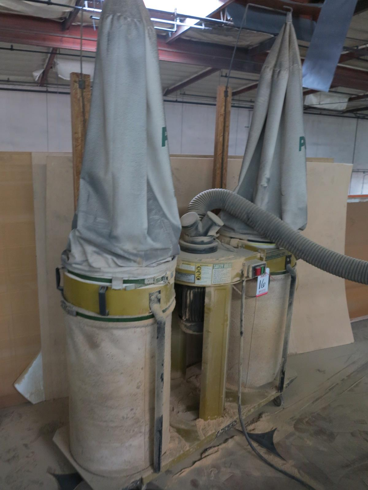 POWERMATIC MODEL 075 2-CANISTER DUST COLLECTOR, 3 HP