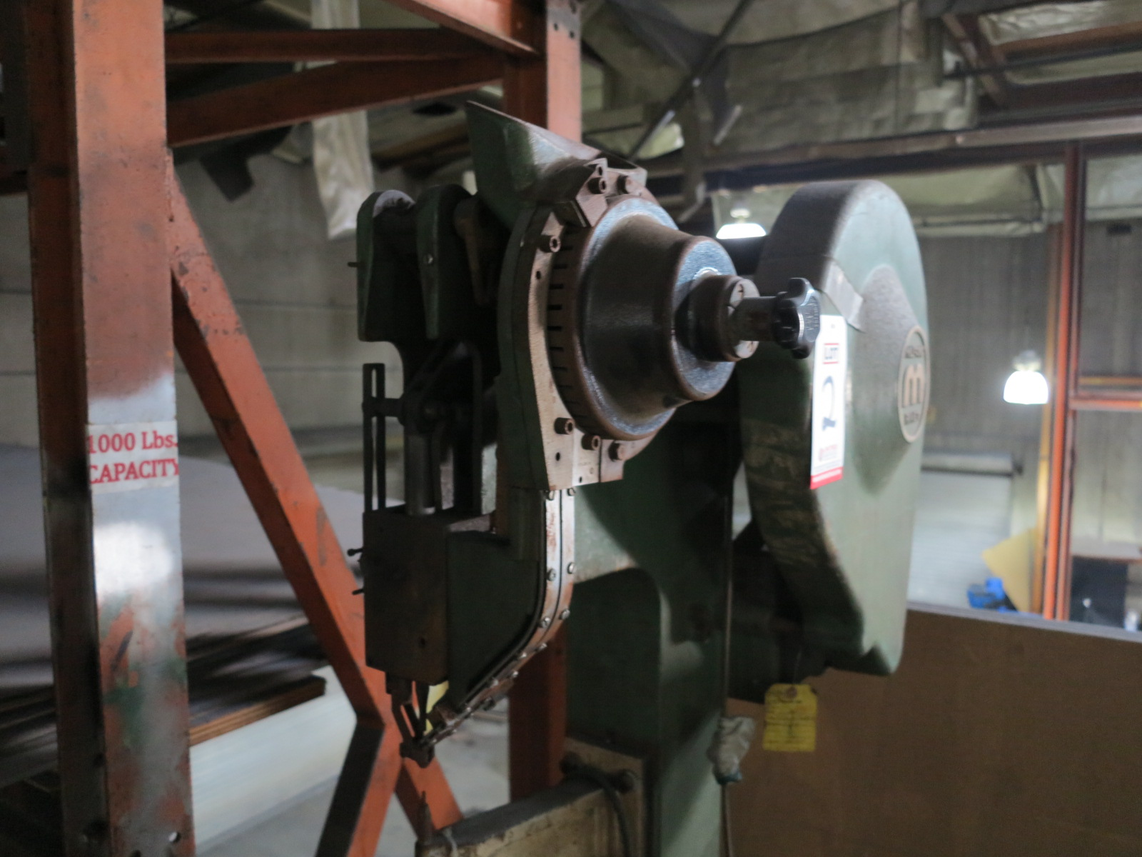MILFORD RIVET MACHINE, MODEL 256REV3, S/N 1427, OUT OF SERVICE - Image 2 of 2