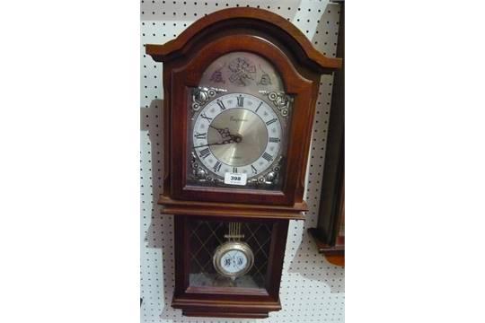 A modern Emperor Quartz Westminster chime wall clock