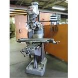 Bridgeport Series 1 – 2Hp Vertical Mill s/n 1770 w/ Sony DRO, 60-4200 Dial RPM, Chrome Ways,