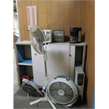 Heaters, Fans, Time Clock and Microwave