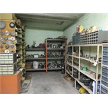 Contents of room Hardware and misc machine parts