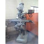 Bridgeport Series 1 – 2Hp Vertical Mill s/n 234871 w/ Sony DRO, 60-4200 Dial RPM, Chrome Ways,
