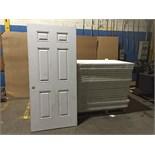 MASONITE STEEL SHEEL ENTRY DOORS (BIDDING IS PER DOOR MULTIPLIED BY 26)