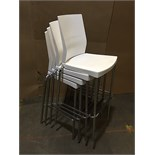 PLASTIC CHAIRS (BIDDING IS PER CHAIR MULTIPLIED BY 4)