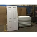 MASONITE STEEL SHEEL ENTRY DOORS (BIDDING IS PER DOOR MULTIPLIED BY 20)