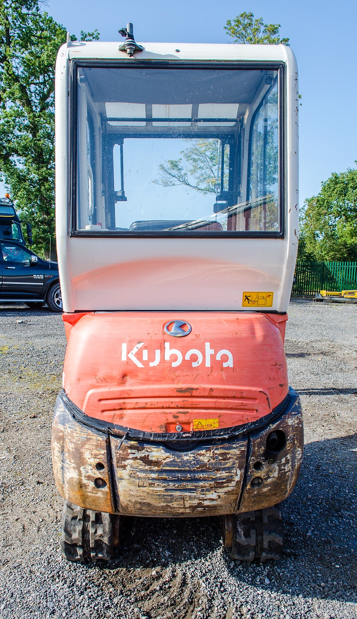 Kubota KX36-3 1.5 tonne rubber tracked mini excavator Year: 2007 S/N: Z077298 Recorded Hours: 4205 - Image 6 of 18
