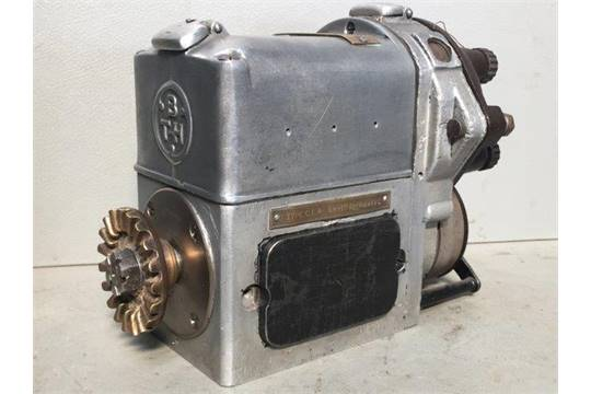 An Alvis BTH magneto type CE4, as used for 12/50 models, purchased