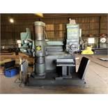 "Giddings & Lewis Bickford 15"" x 6' ""ChipMaster"" Radial Arm Drill, 15"" Column, 6' Arm, 1500 Max"