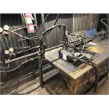 Koike Portable Track Torch Cutter (Used for Beveling & Chamfering) [Located at 8830 Vineyard Avenue,