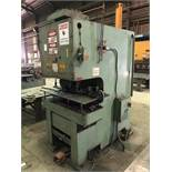 HMI 200 Ton C-Frame Hydraulic Press, Model PJP-200-14, S/N 101-41-148; Comes w/ Tooling [Located