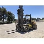 Hyster 19,250 Lb. Cap. Diesel Forklift, Model H210XL, 2-Stage Mast, Side Shift, Meter Read: 1,395
